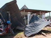 Lốc xoáy làm tốc mái gần 100 ngôi nhà ở Ba Tơ