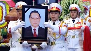 Lời cảm ơn của Ban Lễ tang Nhà nước và gia đình đồng chí Phan Văn Khải