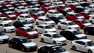 Lượng ôtô nhập khẩuxuất xứ từ Thái Lan tăng vọt