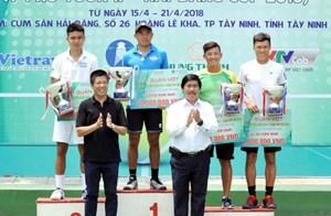 Lý Hoàng Nam đăng quang VTF Pro Tour II