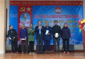 Mai Hạ hân hoan ngày hội Đại đoàn kết toàn dân