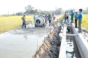 Mặt trận tham gia xây dựng nông thôn mới
