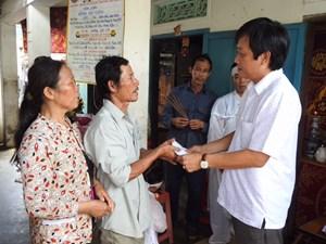 Mặt trận tỉnh Khánh Hòa kêu gọi ủng hộ đồng bào thiệt hại do bão số 12