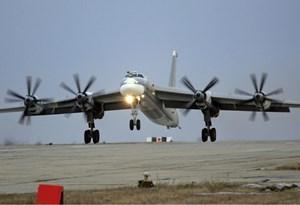 Máy bay Nga tuần tra tại Nam Thái Bình Dương
