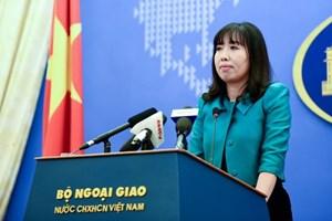 Máy bay Trung Quốc hoạt động diễn tập tại Hoàng Sa là vi phạm nghiêm trọng chủ quyền Việt Nam