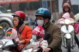 Miền Bắc tiếp tục đón không khí lạnh, Hà Nội thấp nhất 8 độ C