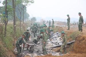 Vụ chống đối xây tường rào sân bay Miếu Môn: 3 Công an hy sinh