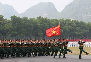 [Infographics] Quân đội nhân dân Việt Nam-Trung với Đảng, hiếu với dân