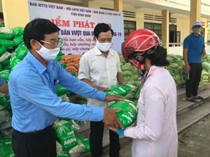 Mặt trận Bình Định: Mở thêm điểm 'phát gạo miễn phí' cho người nghèo