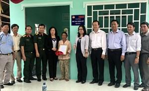 MTTQ TP Cần Thơ bàn giao 75 căn nhà Đại đoàn kết tại huyện Cờ Đỏ