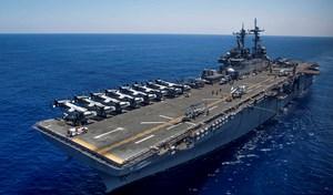 Mỹ điều tàu đổ bộ tấn công hơn 40.000 tấn tập trận tại Hàn Quốc