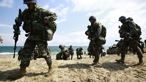 Mỹ-Hàn bắt đầu cuộc tập trận 'Đại bàng non'