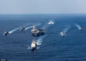 Mỹ, Hàn, Nhật tập trận cảnh báo tên lửa Triều Tiên