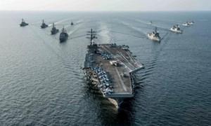 Mỹ, Hàn tập trận hải quân quy mô lớn