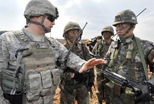 Mỹ và Hàn Quốc nhất trì lùi cuộc tập trận quân sự chung thường niên
