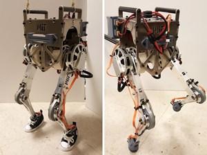 Mỹ phát triển robot hai chân có thể di chuyển cân bằng được như người