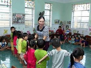 Năm 2021, Việt Nam thiếu 49.000 giáo viên mầm non và tiểu học