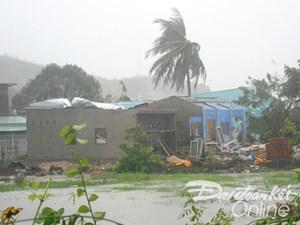 Nam Trung bộ đang đối mặt với bão số 12