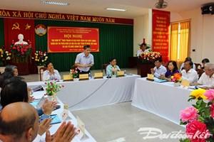Nâng cao chất lượng giám sát và phản biện xã hội của MTTQ Việt Nam