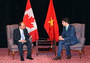 Nâng tầm quan hệ hai nước Việt Nam - Canada