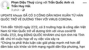 Hà Tĩnh: Triệu tập thêm một nữ sinh vì tung tin dịch Covid-19 sai sự thật