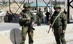 Nga thông báo triển khai quân cảnh tới thị trấn Douma của Syria