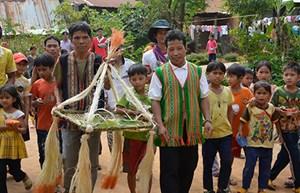 Ngày hội Đại đoàn kết toàn dân tộc tại Đăk Rơ Wang