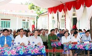 Bình Phước: Ngày hội Đại đoàn kết toàn dân khu phố Bình An