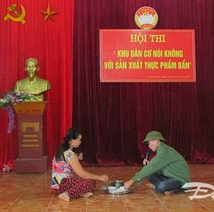 Nghệ An: Khu dân cư nói không với sản xuất thực phẩm bẩn