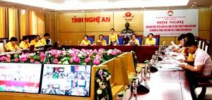 BẢN TIN MẶT TRẬN: Mặt trận Nghệ An lần đầu tiên tổ chức Hội nghị trực tuyến MTTQ tỉnh