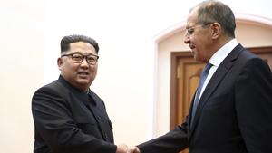 Ngoại trưởng Nga gặp gỡ lãnh đạo Triều Tiên Kim Jong-un