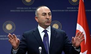Ngoại trưởng Thổ Nhĩ Kỳ hoãn thăm Mỹ