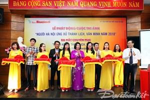 'Người Hà Nội ứng xử thanh lịch, văn minh 2018'