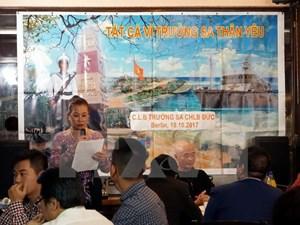 Người Việt tại Đức lan tỏa tình yêu Hoàng Sa, Trường Sa