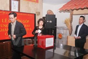 Người Việt tại Mexico quyên góp giúp khắc phục hậu quả bão số 12