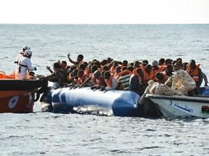 Libya giải cứu hàng trăm người gần Tripoli