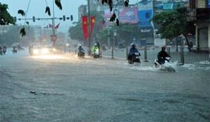 Nguy cơ lũ quét, ngập úng tại các tỉnh Trung Bộ, Nam Bộ do mưa lớn