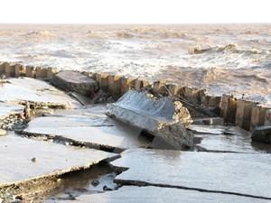 Nguy cơ sạt lở bờ sông, bờ biển Bạc Liêu
