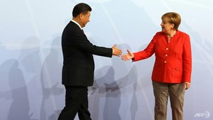 Nhiệm vụ khó khăn của Thủ tướng Đức trong chuyến công du Trung Quốc