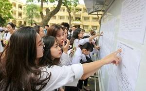 Những mốc thời gian thí sinh cần nhớ sau khi có điểm thi THPT quốc gia
