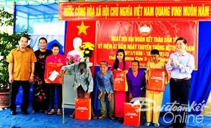 Ninh Thuận: 'Ngày hội Đại đoàn kết toàn dân tộc' tại xã Phương Hải