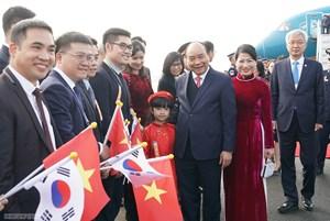 Thủ tướng bắt đầu chương trình dự hội nghị về quan hệ ASEAN-Hàn Quốc