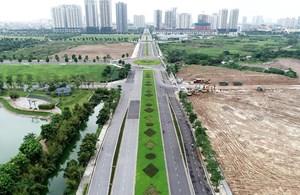 Hà Nội: Phân luồng, tổ chức giao thông đường Nguyễn Văn Huyên kéo dài