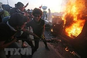 Iraq khẳng định lực lượng chính phủ không nổ súng vào người biểu tình
