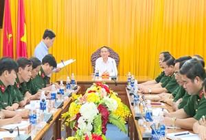 Ông Trương Quang Nghĩa được chỉ định Bí thư Đảng ủy Quân sự thành phố Đà Nẵng