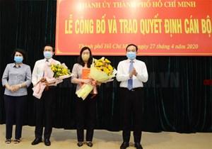 Phó Chủ tịch Mặt trận TP HCM giữ chức Phó Bí thư Quận ủy quận Bình Thạnh