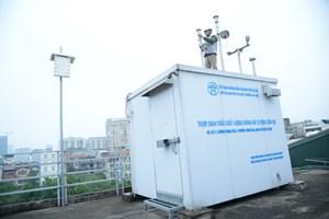 Giảm thiểu ô nhiễm không khí: Hà Nội dự định lắp thêm 70 trạm quan trắc