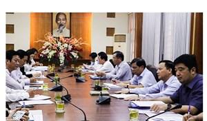 Khánh Hòa: Thường trực Tỉnh ủy làm việc với Ủy ban MTTQ Việt Nam tỉnh