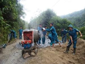 Pác Nặm nỗ lực xây dựng nông thôn mới