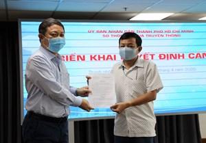 Bổ nhiệm tân Phó Giám đốc Trung tâm báo chí TP HCM